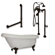 61 L x 31 W  Bathtub by Cambridge Plumbing