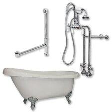 61 L x 31 W  Bathtub by Cambridge Plumbing