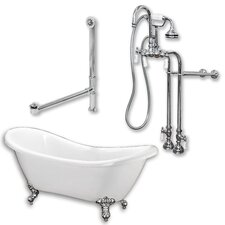 68 L x 28 W  Bathtub by Cambridge Plumbing