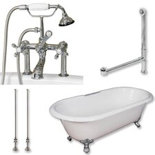 60 L x 30 W  Bathtub by Cambridge Plumbing