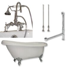 67 L x 31 W  Bathtub by Cambridge Plumbing