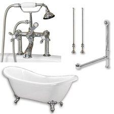 68 L x 28 W  Bathtub by Cambridge Plumbing