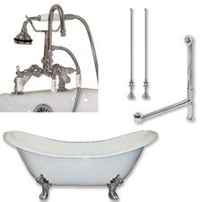 71 L x 30 W  Bathtub by Cambridge Plumbing