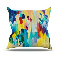 Don't Quote Me by Ebi Emporium Throw Pillow