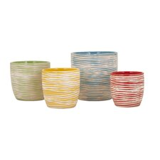 Garin 4-Piece Ceramic Pot Planter Set