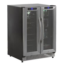 19 Bottle Dual Zone Freestanding Wine Cooler