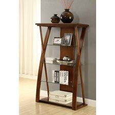"""Super Z 60"""" Accent Shelves Bookcase"""