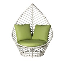 Palm Lounge Chair with Cushions by David Francis Furniture