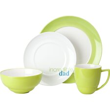 "Family ""Incredible Dad"" 4 Piece Place Setting, Service for 1"