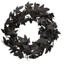 Black Maple Leaf Wreath
