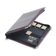 Steelmaster Portable Zippered Key Case