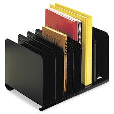 Steelmaster Six-Section Adjustable Book Rack