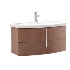 Siena 36 Single Wall Mounted Bathroom Vanity Set by Avanity