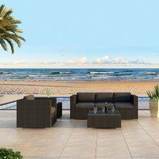 Urbana 3 Piece Deep Seating Group with Cushion by Harmonia Living