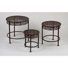 3 Piece Nesting Tables by Tripar