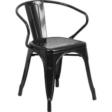 Ellecourt Stacking Dining Arm Chair (Set of 2)