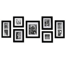 quick view gallery perfect 7 piece create a gallery picture frame set