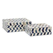 Essentials 2 Piece Bone Box Set