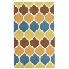 Palace Green/Blue Outdoor Area Rug