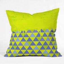 Jacqueline Maldonado Triangle Indoor/outdoor Throw Pillow by DENY Designs