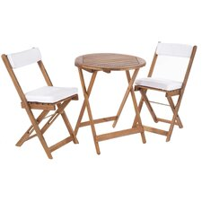 Raffles 2 Seater Bistro Set with Cushions