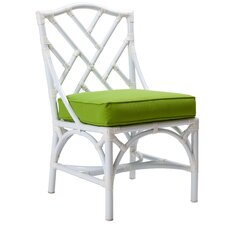 Chippendale Dining Side Chair with Cushion by David Francis Furniture