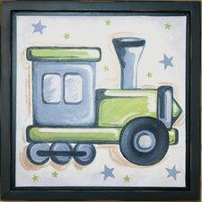 Train Deco Framed Art