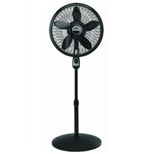 """18"""" Oscillating Pedestal Fan with Remote Control"""
