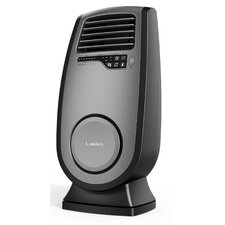 Ceramic 1,500 Watt Portable Electric Fan Compact Heater with Adjustable Thermostat