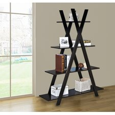 59 Accent Shelves Bookcase by Jeco Inc.