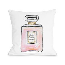 Hello Beautiful Perfume Multiple Throw Pillow