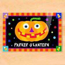 Halloween Jack O' Lantern Personalized Placemat