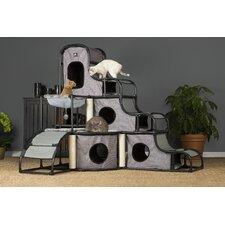 """56"""" Catville Tower Cat Condo"""