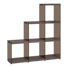 "52"" Accent Shelves Bookcase"