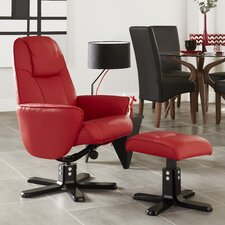 Herberton Recliner and Footstool