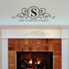 quick view stanford family monogram design wall decal - Design Wall Decal