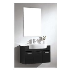 Brizendine Modern & Contemporary Frameless Mirror