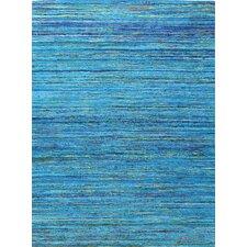 Bohemian Blue& Gold Area Rug