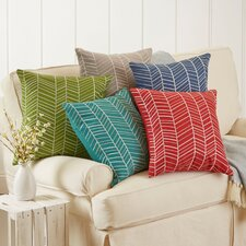 Kima Embroidered Cotton Pillow Cover