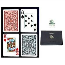 Copag™ Bridge Size Jumbo Index Playing Card Set
