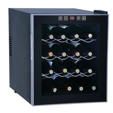 16 Bottle Single Zone Freestanding Wine Cooler
