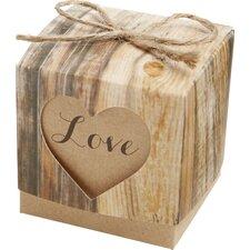 Love Favor Decorative Box (Set of 24) by Kate Aspen