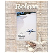 Relax Starfish Picture Frame
