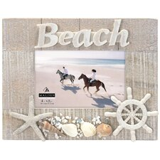 Beach with Shells Picture Frame