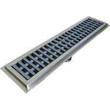 Floor Water Receptacle 7.5 Grid Shower Drain by IMC Teddy