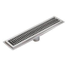 Floor Water Receptacle 72 Grid Shower Drain by IMC Teddy