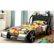 Sporty Racer Twin Car Bed by Hokku Designs