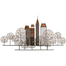 Wanddekoration City Skyline