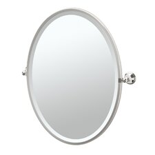Laurel Ave Framed Oval Mirror