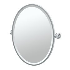 Tiara Framed Oval Mirror